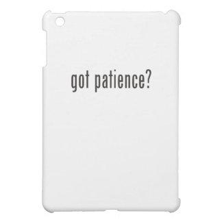 got patience? iPad mini covers
