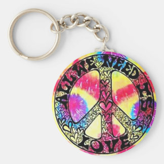 Got Peace?  All You Need is Love Keychain