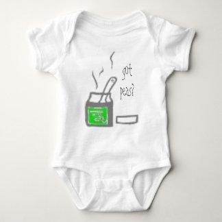 gOt peas? Baby Bodysuit