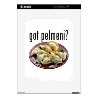 Got pelmeni? Пельмени есть? Skins For iPad 2