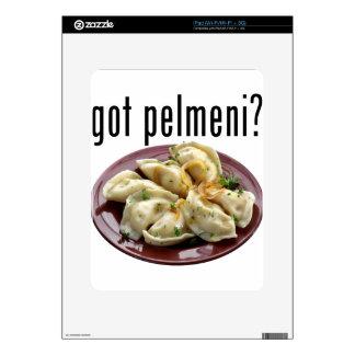 Got pelmeni? Пельмени есть? iPad Decal