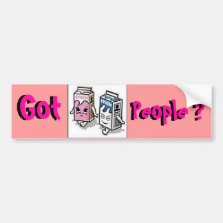 Got People ? Bumper Sticker