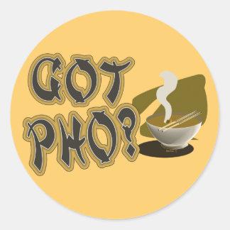 Got Pho 08 Round Stickers