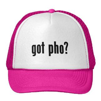 got pho? mesh hat