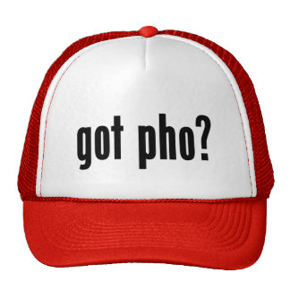got pho? hat