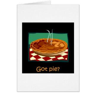 Got pie card