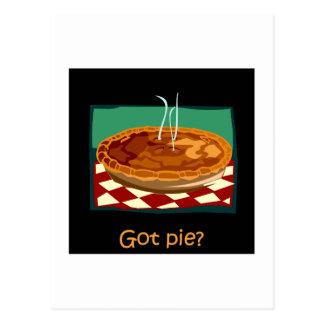 Got pie postcard