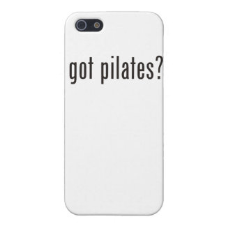 got pilates? covers for iPhone 5