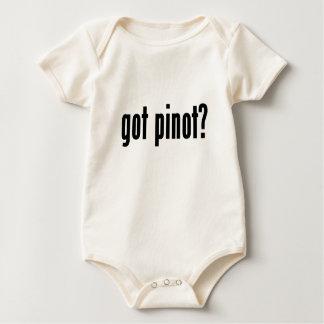 got pinot? baby bodysuit