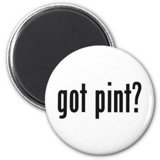 got pint? 2 inch round magnet