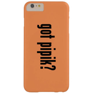 got pipik? barely there iPhone 6 plus case