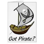 Got Pirate Greeting Card