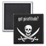 got pirattitude? 2 inch square magnet