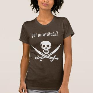 got pirattitude? t-shirt