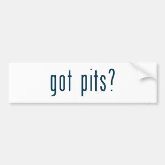 got pits bumper stickers