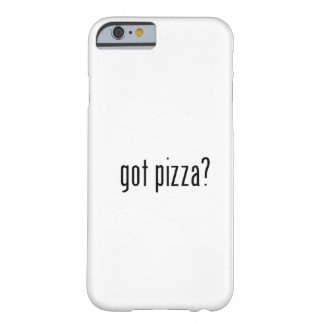got pizza? barely there iPhone 6 case