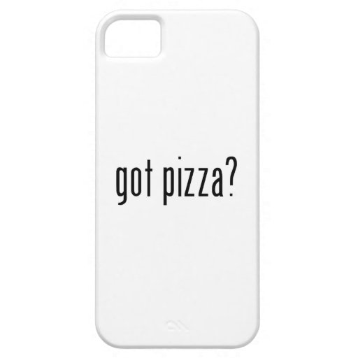 got pizza? iPhone 5 covers