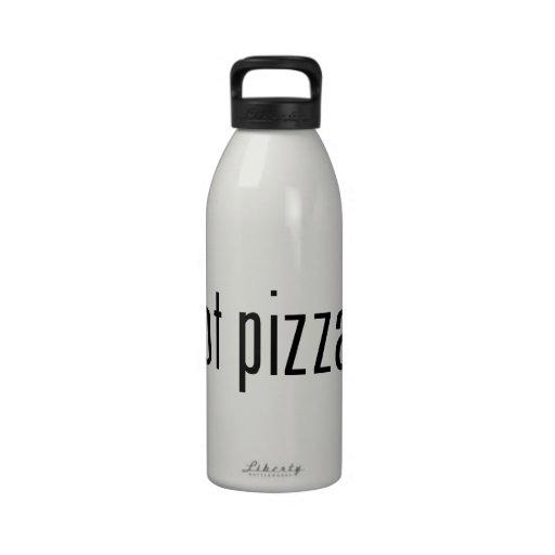 got pizza? water bottles