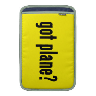 got plane? MacBook air sleeve