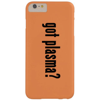 got plasma? barely there iPhone 6 plus case