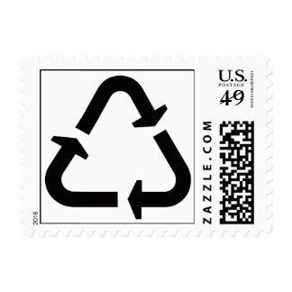 got plastic? Recycling Sign Postage