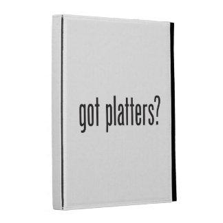 got platters iPad folio case