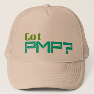 Got PMP Hat for Certified Project Managers