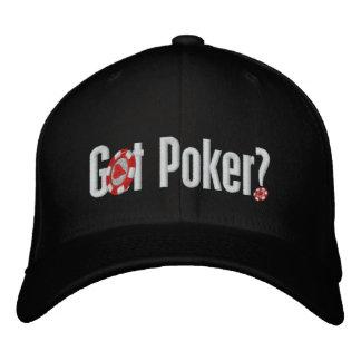 Got Poker Embroidered Baseball Cap