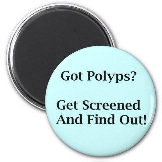 Got Polyps? 2 Inch Round Magnet