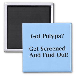 Got Polyps? 2 Inch Square Magnet