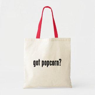 got popcorn? tote bag