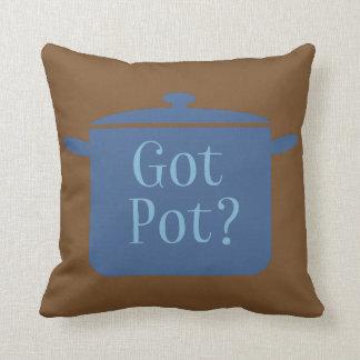 Got Pot? Throw Pillow