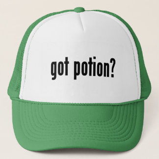 got potion? trucker hat