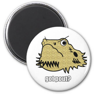 Got Pout? Fridge Magnet
