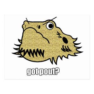 Got Pout? Postcard