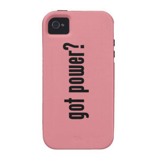 got power? vibe iPhone 4 cover