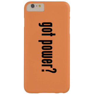 got power? barely there iPhone 6 plus case