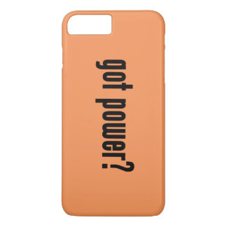 got power? iPhone 7 plus case