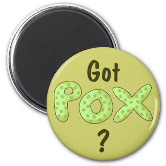 Got Pox? Fun Pirate Phrase Magnet