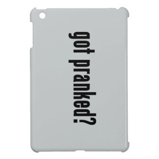 got pranked? cover for the iPad mini