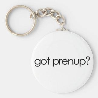 Got Prenup? Key Chain