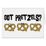 Got Pretzels? Greeting Card