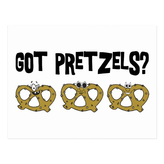Got Pretzels? Postcard