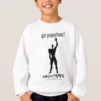 Got Proportions Light Sweatshirt
