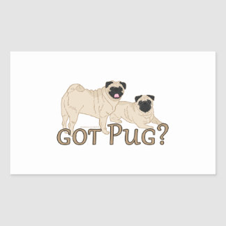 Got Pug? Stickers