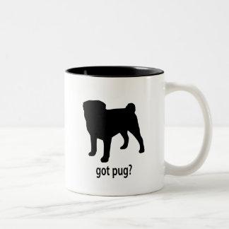Got Pug Two-Tone Coffee Mug