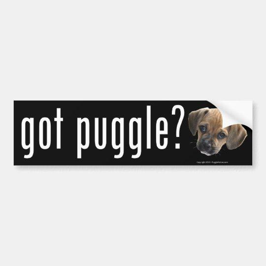 Got Puggle Bumper Sticker