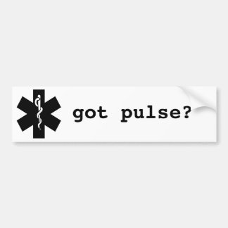 got pulse bumper stickers