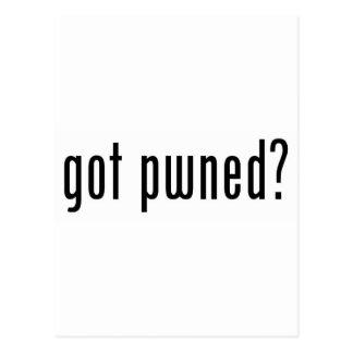 got pwned? postcard