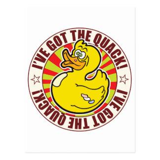 Got Quack Duck Postcard